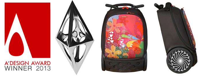 Рюкзак на колесиках Roller Nikidom Reef арт. 9022 (19 литров), - фото 3