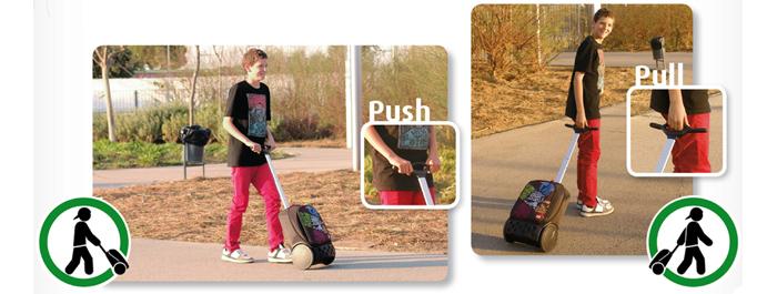 Рюкзак на колесиках Roller Nikidom Reef арт. 9022 (19 литров), - фото 4