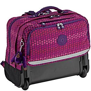 Рюкзак на колесах Kipling Topanga цвет Sweet Print